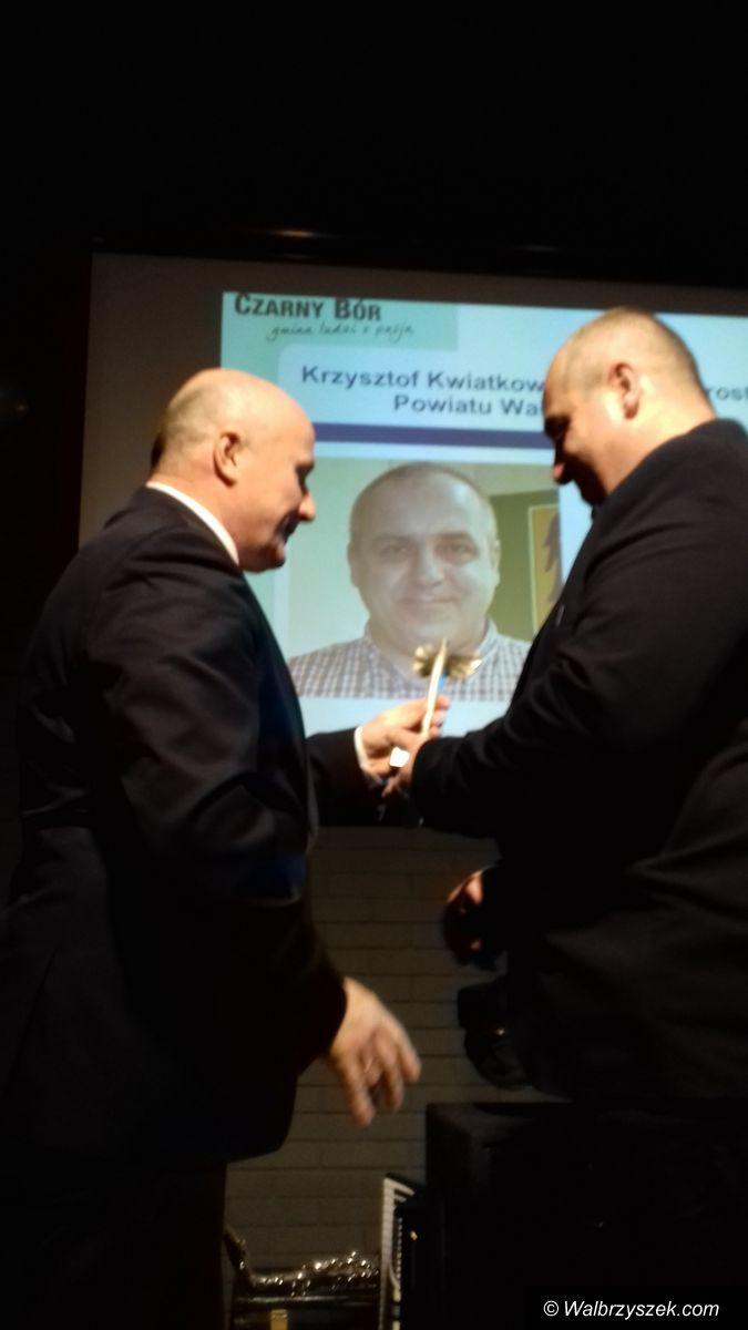 powiat wałbrzyski: Krzysztof Kwiatkowski przyjacielem Gminy Czarny Bór