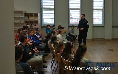 Wałbrzych: Wałbrzyscy policjanci przeprowadzili szkolenia z okazji