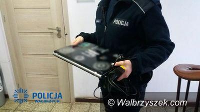 REGION, Sokołowsko: Policjanci z Boguszowa–Gorc odzyskali skradzionego laptopa wraz ze specjalistycznym oprogramowaniem