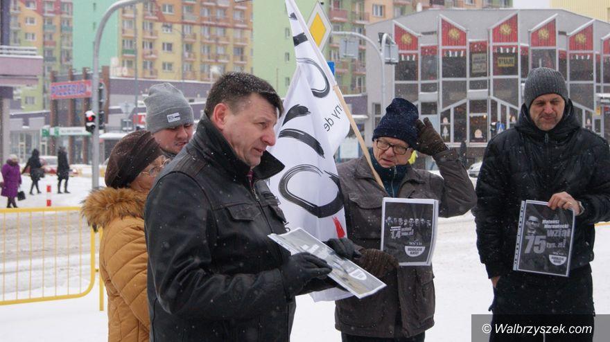 Wałbrzych: Lista hańby – konferencja PO