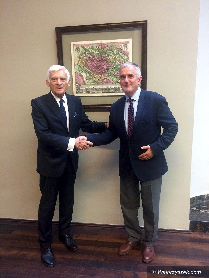 Wałbrzych: Jerzy Buzek orędownikiem sprawy sudeckiej