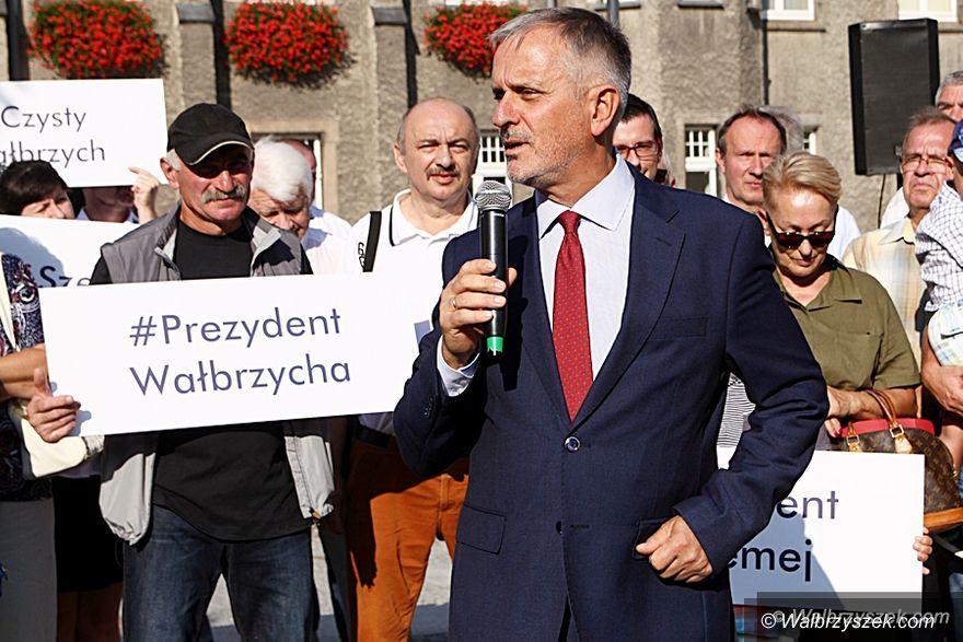 Wałbrzych: Prezydent Szełemej będzie się starał o reelekcję