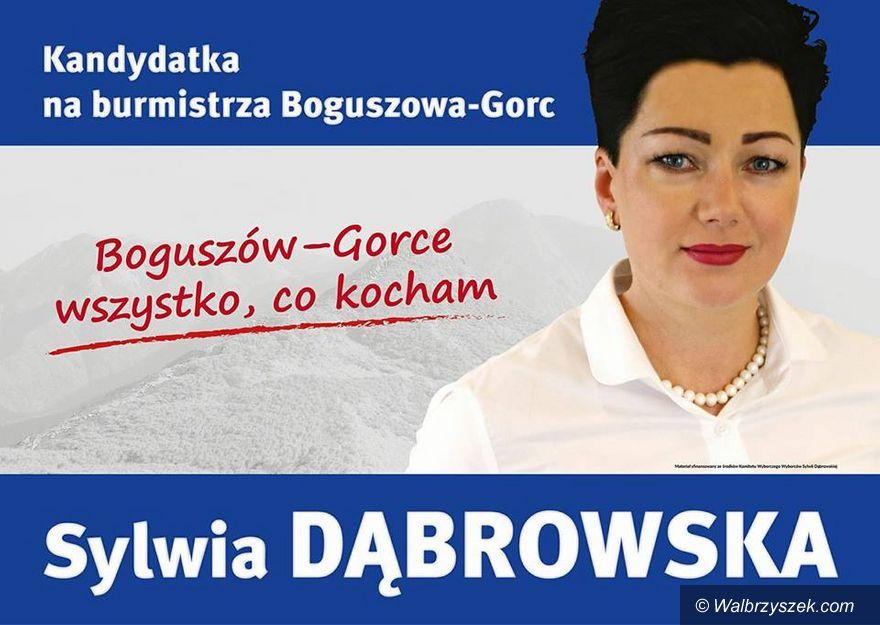 REGION, Boguszów-Gorce: Sylwia Dąbrowska będzie ubiegać się o fotel burmistrza Boguszowa–Gorc