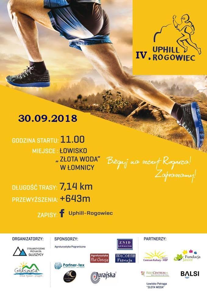 REGION: Uphill Rogowiec rusza 30 września
