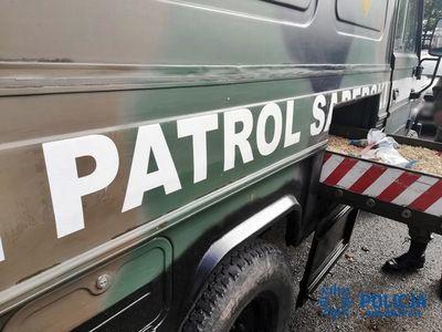 REGION, Boguszów-Gorce: Przyniósł granat do komisariatu