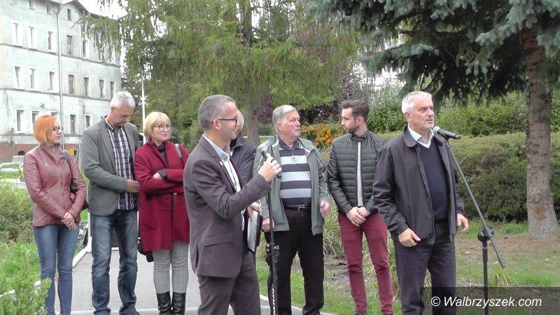 Wałbrzych: Prezydent Szełemej tym razem spotkał się z mieszkańcami Piaskowej Góry