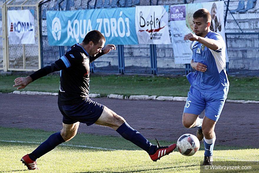 Wałbrzych: IV liga piłkarska: Wygrana Górników w przeciętnym stylu