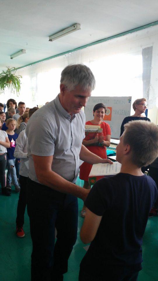 Wałbrzych: Tabliczka mnożenia króluje w Publicznej Szkole Podstawowej nr 15