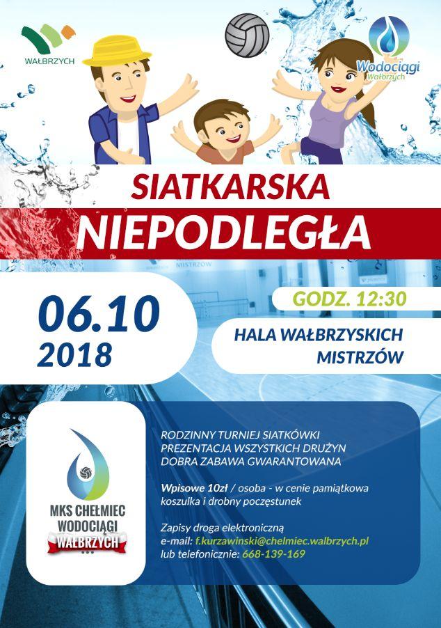 """Wałbrzych: """"Siatkarska Niepodległa"""" – rodzinny turniej siatkówki"""