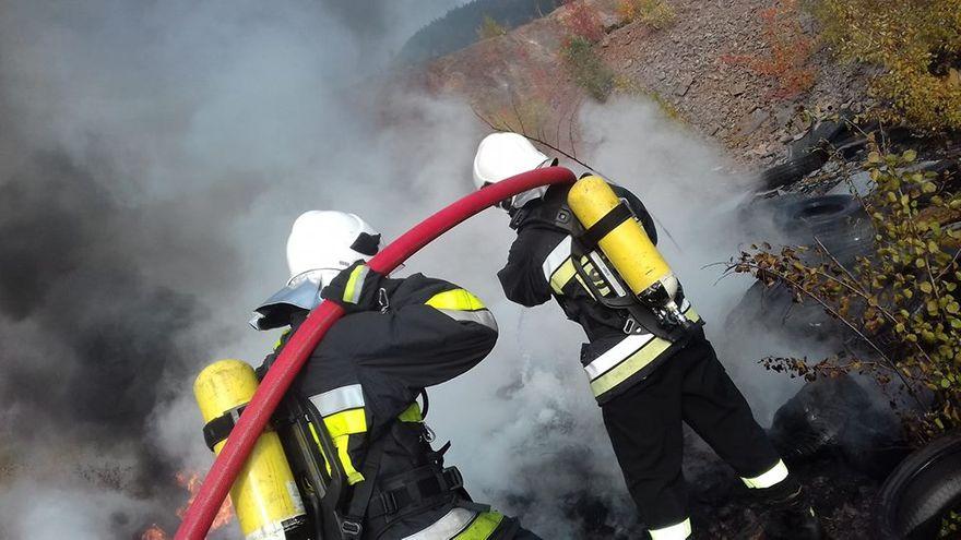 REGION, Boguszów-Gorce: Strażacy z Boguszowa nie mogą narzekać na brak zajęć