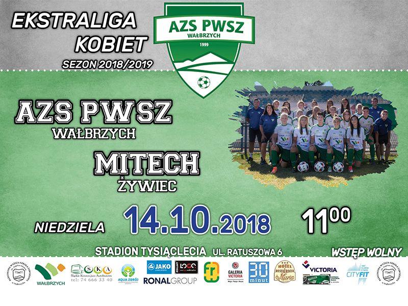Wałbrzych: Ekstraliga piłkarska kobiet: Pogrążyć Mitech