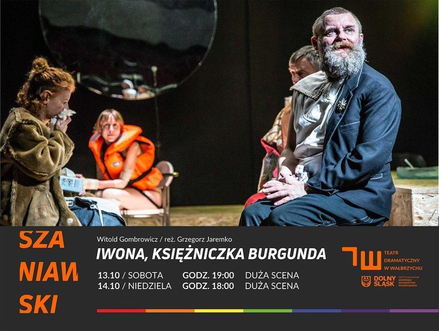"""Wałbrzych: """"Iwona, księżniczka Burgunda"""" i spotkanie z reżyserem"""