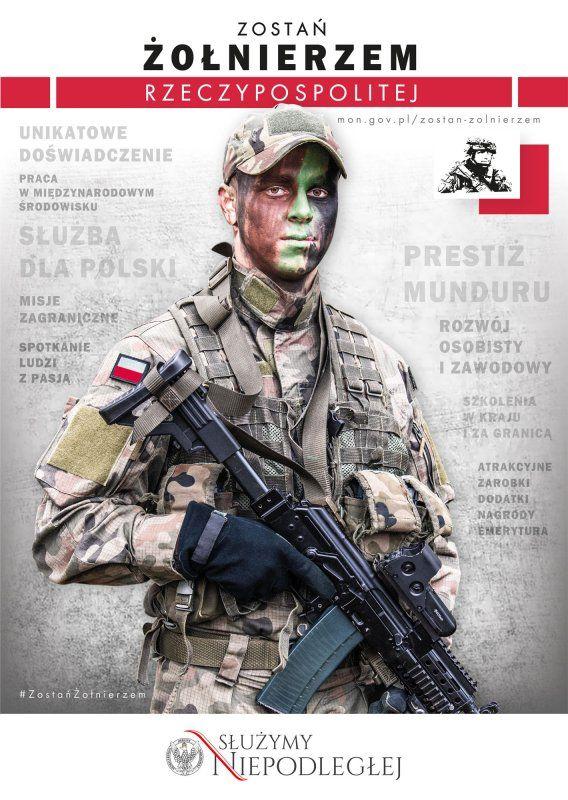 """REGION: Ruszyła kampania """"Zostań żołnierzem Rzeczypospolitej"""""""