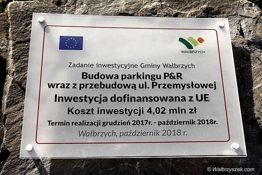 Wałbrzych: Ulica Przemysłowa oficjalnie otwarta