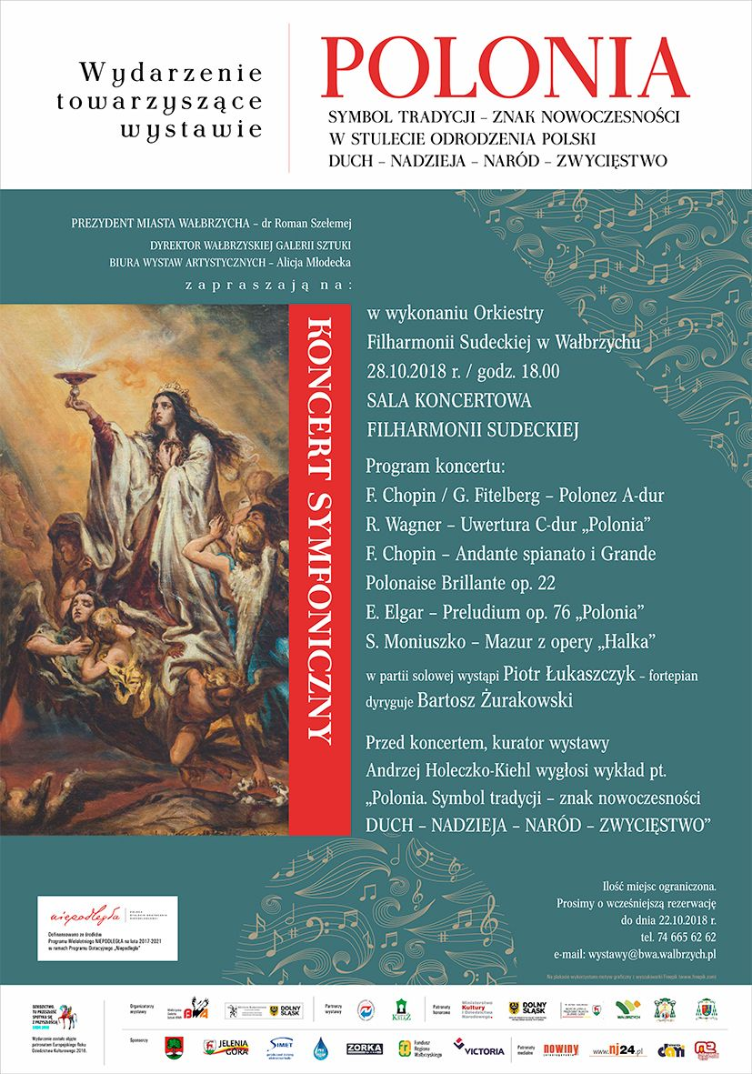 Wałbrzych: Koncert z okazji rocznicy odzyskania niepodległości odbędzie się w niedzielę