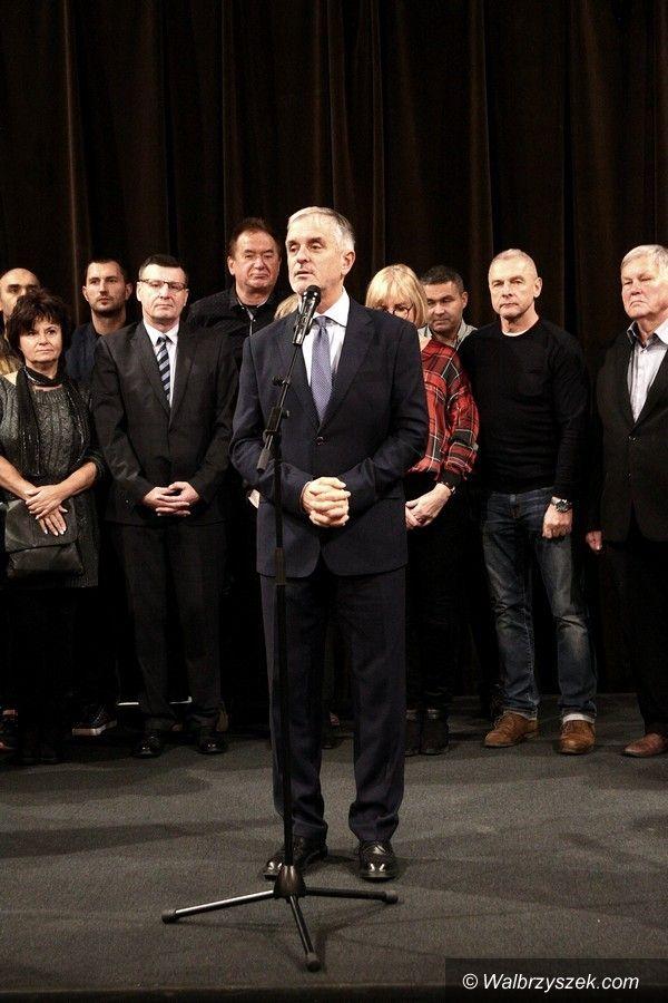 Wałbrzych: Spotkanie powyborcze KWW Romana Szełemeja