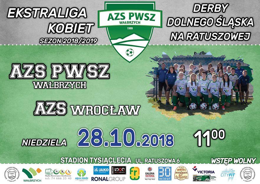 Wałbrzych: Ekstraliga piłkarska kobiet: Starcie akademiczek