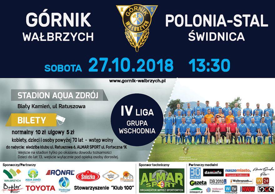 Wałbrzych: IV liga piłkarska: Czeka nas arcytrudne spotkanie
