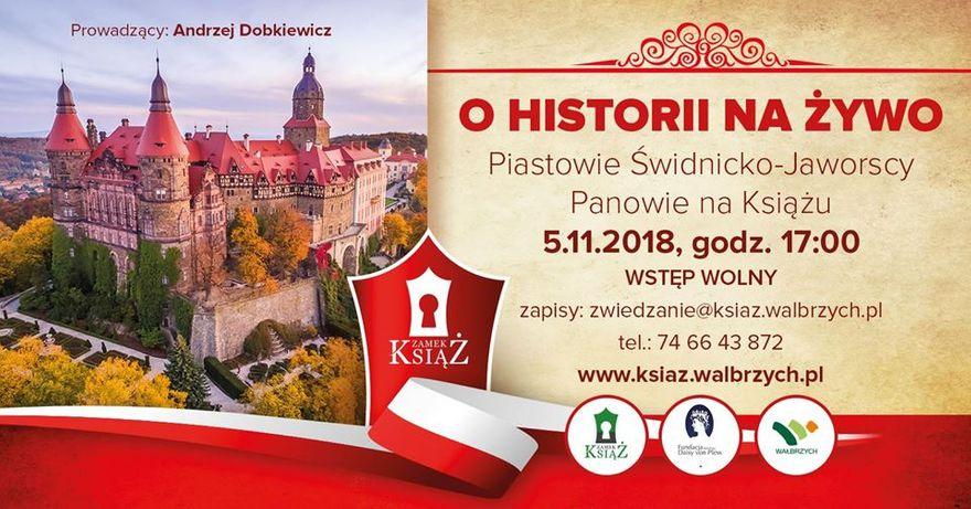 Wałbrzych: Ciekawe spotkanie odbędzie się w Zamku Książ