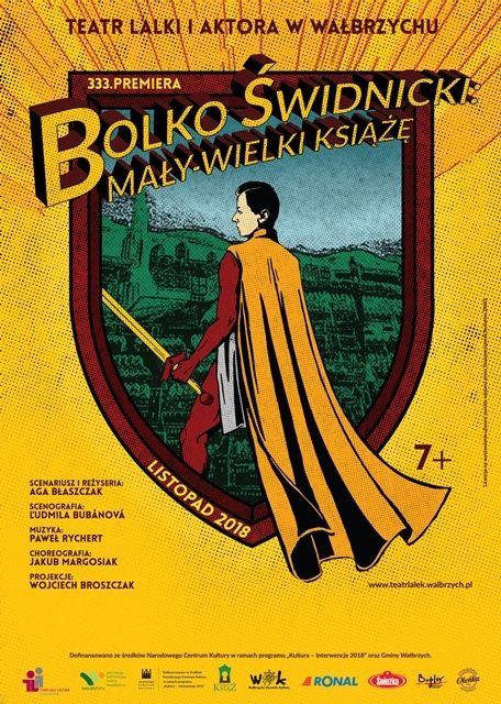 Wałbrzych: Kolejna premiera Teatru Lalki i Aktora odbędzie się w Zamku Książ