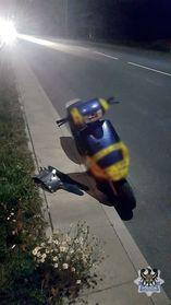 Wałbrzych: 15–latek uciekał policjantom motorowerem