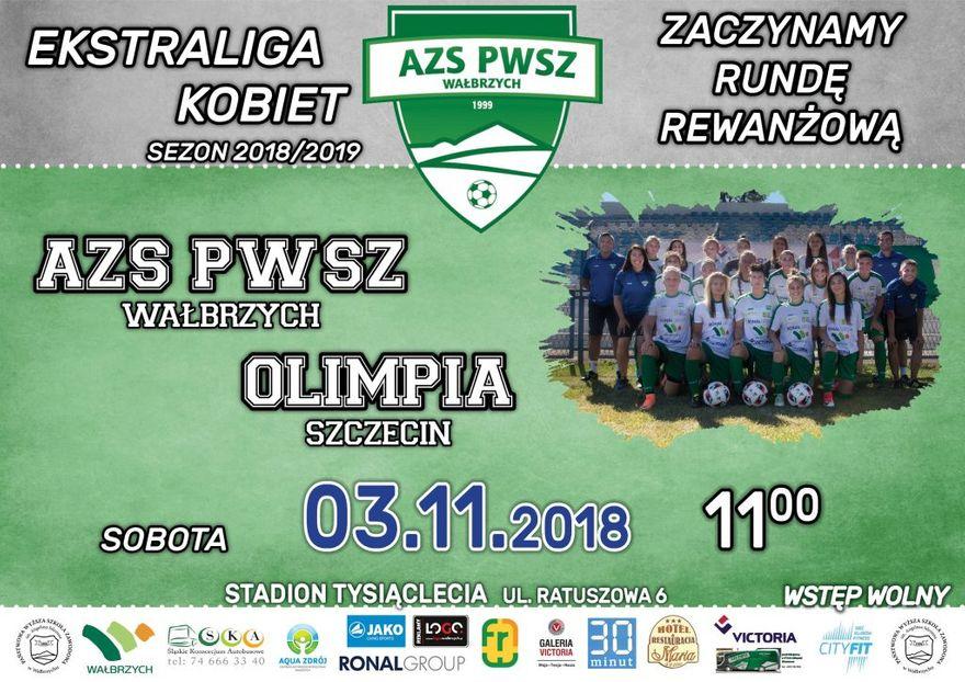 Wałbrzych: Ekstraliga piłkarska kobiet: Ze Szczecinem o pełną pulę