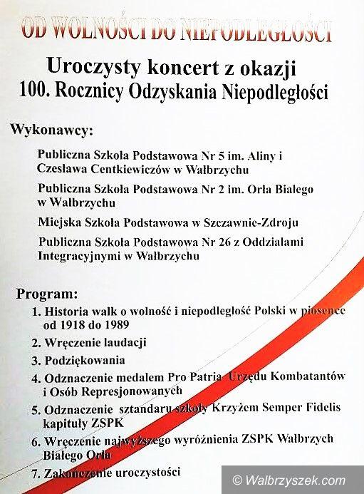 Wałbrzych: Ku czci niepodległości