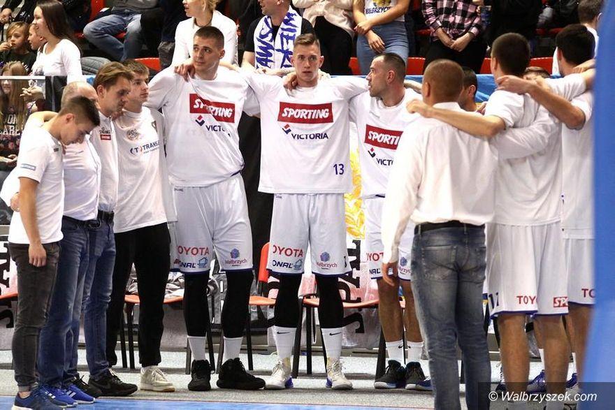 Wałbrzych: I liga koszykówki mężczyzn: Dziś derby ze Śląskiem