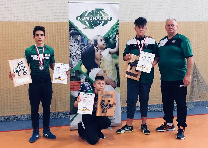 Wałbrzych: Trzy medale młodzików Zagłębia