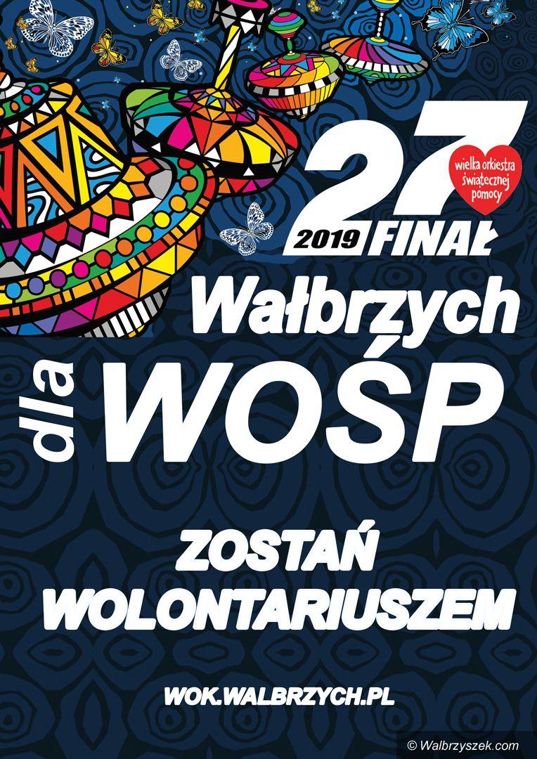 Wałbrzych: Zostań wolontariuszem 27. finału WOŚP