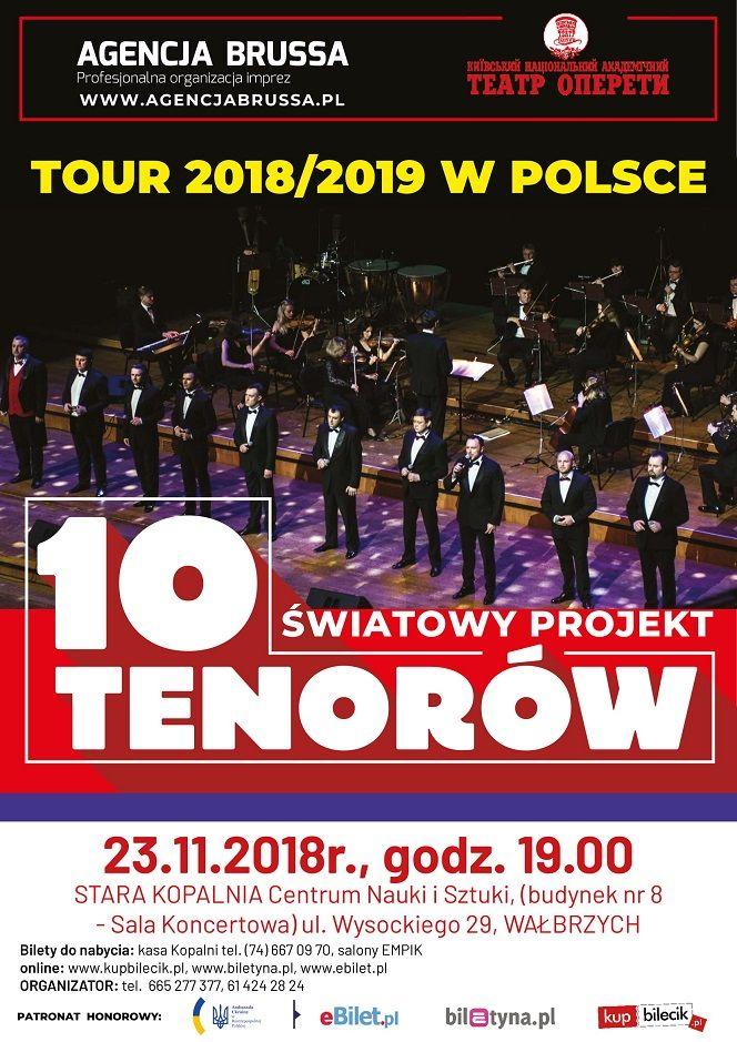 Wałbrzych:  10 tenorów zaśpiewa dla wałbrzyszan