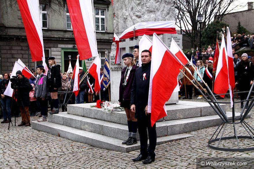 Wałbrzych: Wałbrzyskie obchody 100. Rocznicy Odzyskania Niepodległości