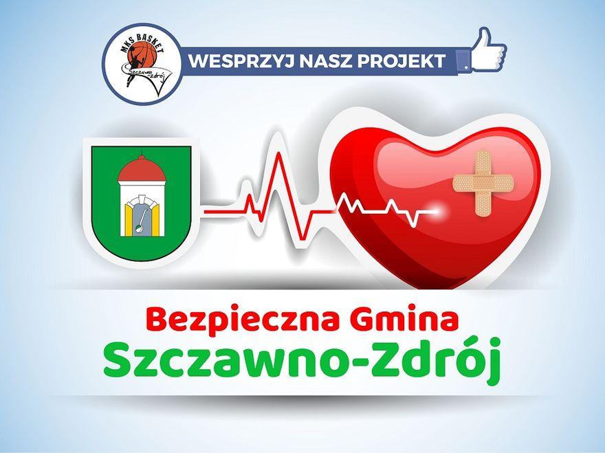 """REGION, Szczawno-Zdrój: Projekt """"Bezpieczna Gmina Szczawno–Zdrój"""" realizowany w ramach akcji PZU Pomoc To Moc"""