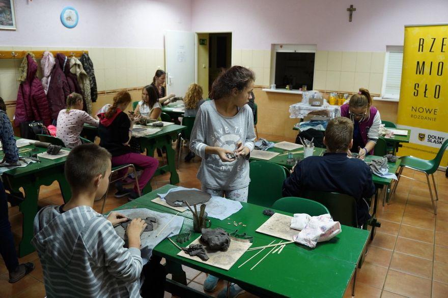Wałbrzych: Lekcje z rzemieślnikami