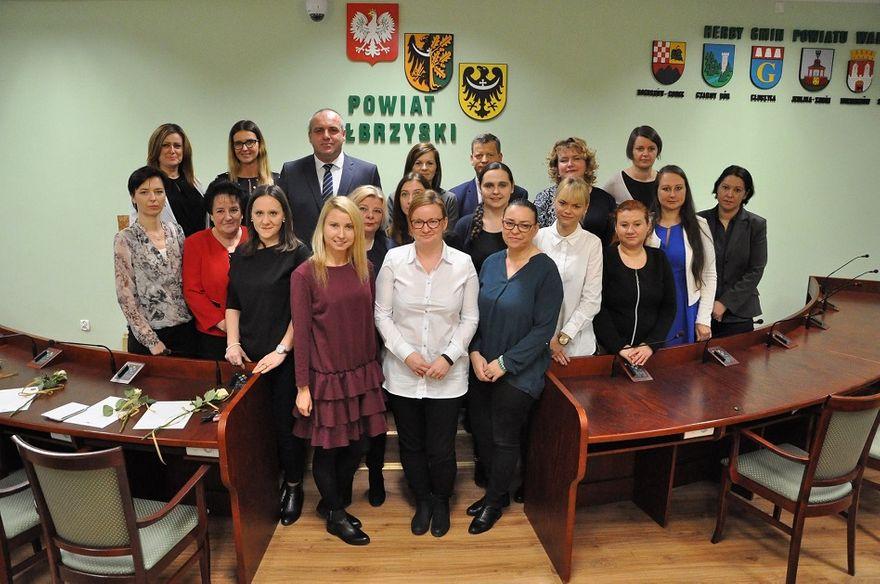 powiat wałbrzyski: Dzień Pracownika Socjalnego w PCPR