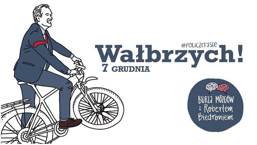 Wałbrzych: Za niespełna dwa tygodnie Wałbrzych odwiedzi Robert Biedroń