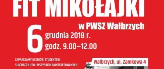 Wałbrzych: Fit Mikołajki w PWSZ