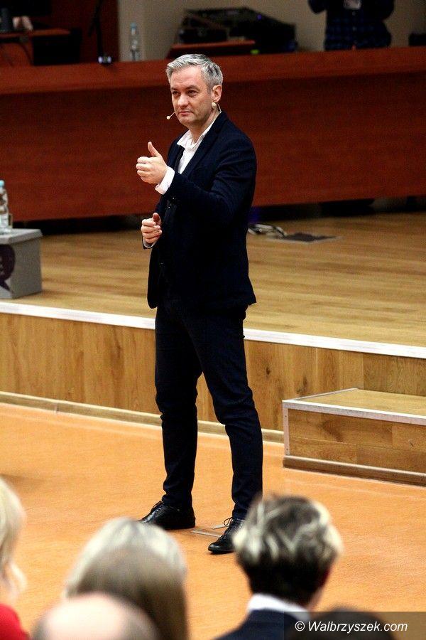 Wałbrzych: Robert Biedroń w Wałbrzychu