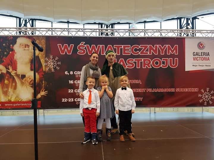 Wałbrzych: Przedszkolaki kolędowały