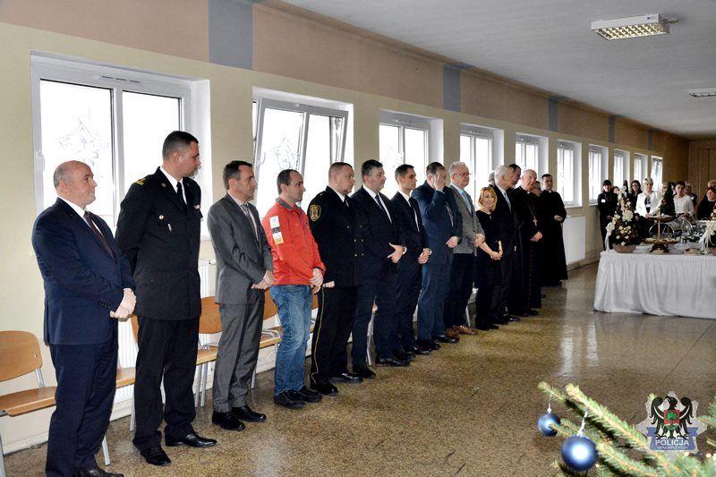 Wałbrzych: Spotkanie wigilijne odbyło się w wałbrzyskiej komendzie