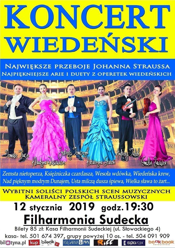 Wałbrzych:  Do wygrania 5 podwójnych wejściówek na Koncert Wiedeński w wałbrzyskiej Filharmonii