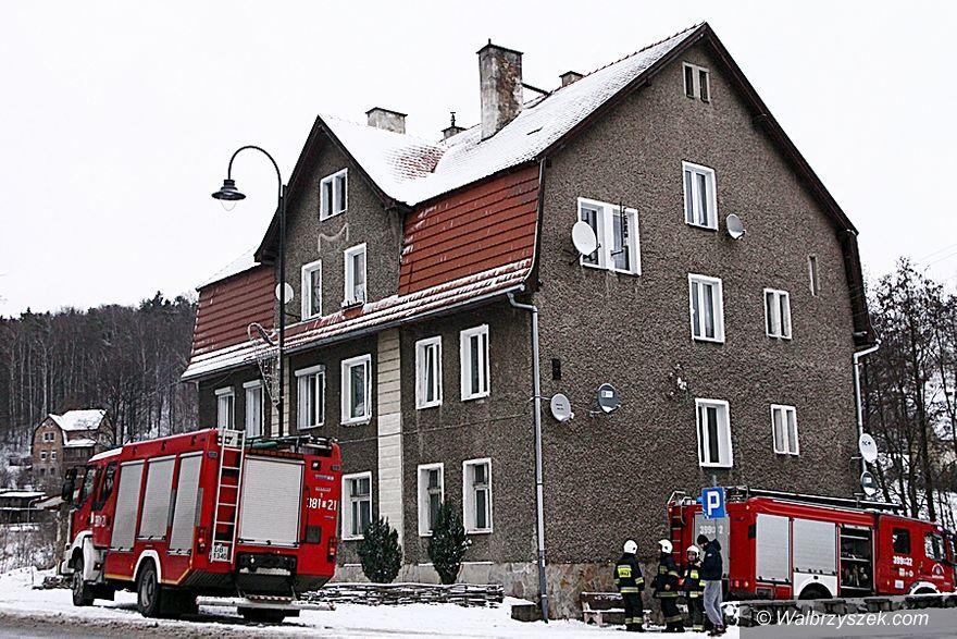 REGION, Jedlina-Zdrój: Pożar mieszkania w Jedlinie–Zdroju