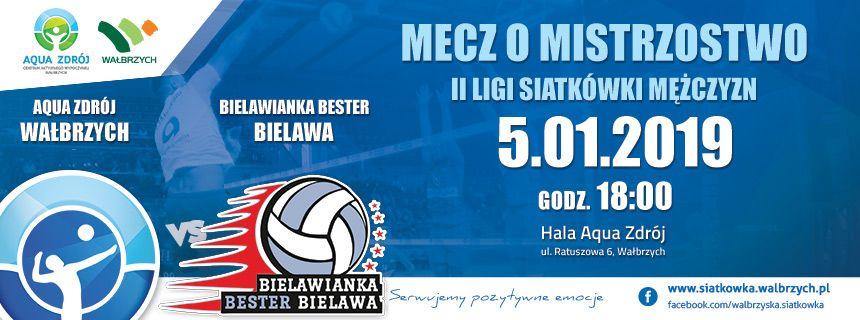 Wałbrzych: II liga siatkówki mężczyzn: Siatkarze Aqua Zdroju wracają na parkiet