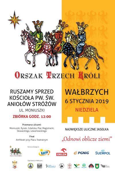 Wałbrzych: Jutro barwny orszak przemaszeruje ulicami Wałbrzycha