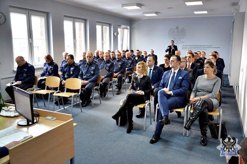 Wałbrzych: Wałbrzyscy policjanci podsumowali 2018 rok