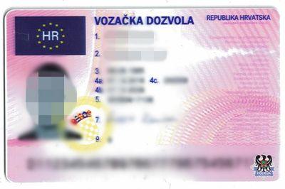 Wałbrzych: 34–latek miał podrobione chorwackie prawo jazdy