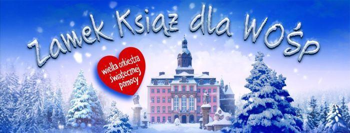 Wałbrzych: Zamek Książ dla WOŚP