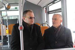 REGION, Świebodzice: Jazda testowa nowym autobusem