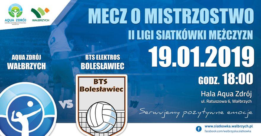 Wałbrzych: II liga siatkówki mężczyzn: Serię meczów u siebie zaczynamy od potyczki z Bolesławcem