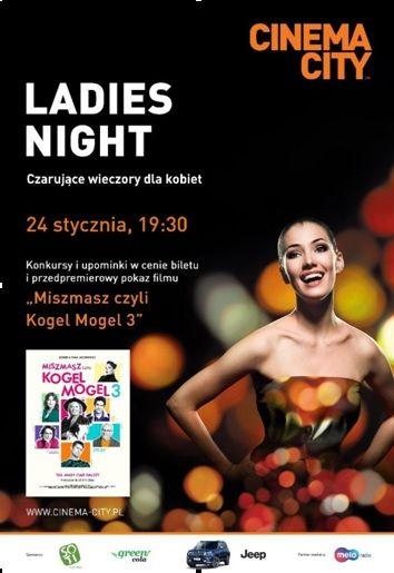 Wałbrzych: Spotkania Ladies Night w Cinema City powracają w Nowym Roku!